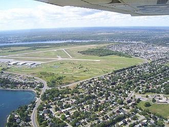 Kingston Norman Rogers Airport - Kingston Airport from the air