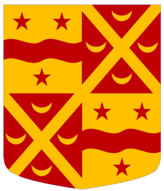 Lord Kinnaird - Arms of the Lords Kinnaird.