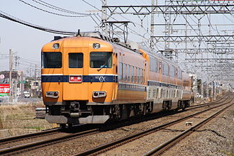 Kintetsu Railway - Image: Kintetsu 30000 001 JPN