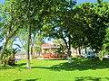 Kiosko y jardines, Parque de la Bandera, Chetumal. - panoramio.jpg