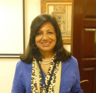 Biocon - Kiran Mazumdar–Shaw, 2013. Chemical Heritage Foundation