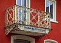 Kirchberg an der Jagst - Frankenplatz 1 - Balkon von NO.jpg