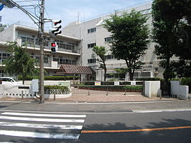 Kitagata Elementary School of Yokohama City.JPG