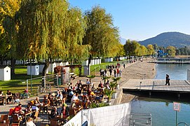 Klagenfurt Wörthersee Strandbad Cafe Sunset Bar 11102008 71.jpg