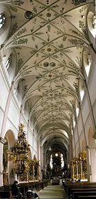 Kloster Michaelsberg Mittelschiff