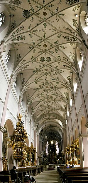 Michaelsberg Abbey, Bamberg - Nave of the former abbey church