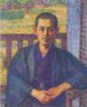KojimaTorajirō-1915-Portrait of Ōhara Magosaburō.png