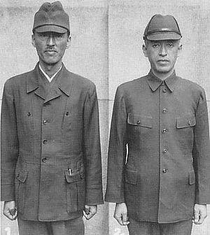 Soviet assault on Maoka - Civilian men wearing kokumin-fuku were confused for military.
