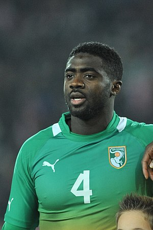 Kolo Touré - Touré with the Ivory Coast in 2012