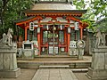 Komainu foxes at an Inari shrine.jpg