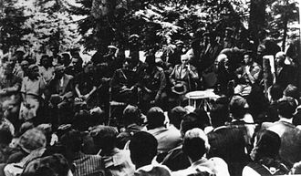 National Liberation Front (Greece) - Conference of EAM in Kastanitsa, Thessaly