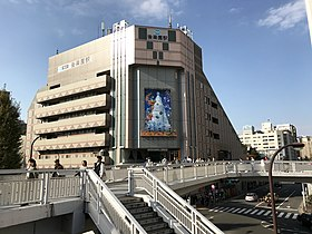 Korakuen-station-building2018.jpg