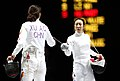 Korea London WomenTeam Fencing 16 (7730594834).jpg