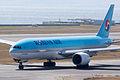 Korean Air ,KE724 ,Boeing 777-2B5(ER) ,HL7574 ,Departed to Seoul ,Kansai Airport (16480654228).jpg