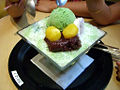 Korean shaved ice-Green tea bingsu-03.jpg