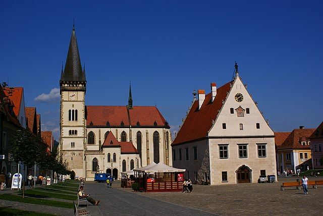 Basilica of St. Giles in Bardejov