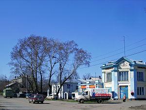 Kotelnich - Image: Kotelnich. Sovetskaya & Labour Streets crossing
