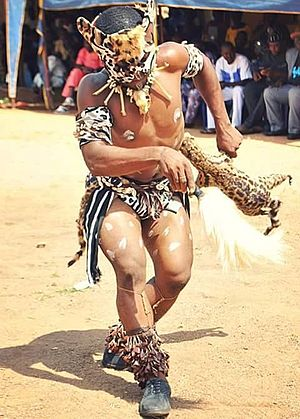 Tiv people - Tiv cultural dance, the cat dance