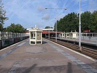Kralingse Zoom metro station - Image: Kralingse Zoom