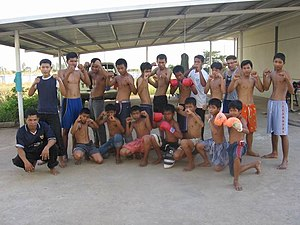 Sport in Cambodia - Cambodian martial artists