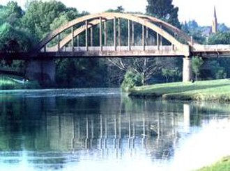 Sarel Cilliers - The Sarel Cilliers wagon-wheel bridge in Kroonstad.