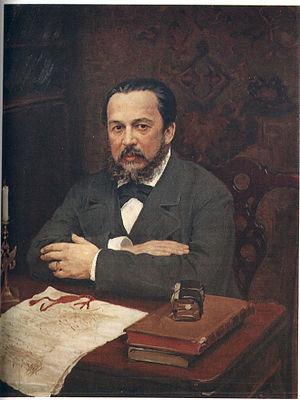 Aleksey Uvarov - Aleksey Uvarov; posthumous portrait by Ivan Kulikov