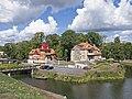 Kuressaare Ekesparre House and Lossi 16.jpg