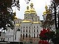 Kyiv Pechersk Lavra - Uspenskyi cathedral back.jpg