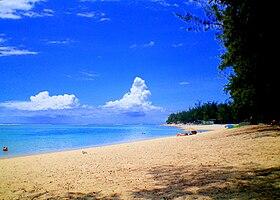 Hermitage Beach, Saint-Gilles les Bains, Réunion Island.
