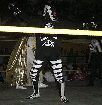 La Parka - L.A. Park in the ring during a show in Cuernavaca
