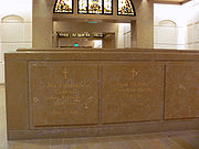 LA Cathedral Mausoleum grave McIntyre