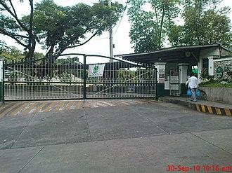 La Salle College Antipolo - Entrance gate