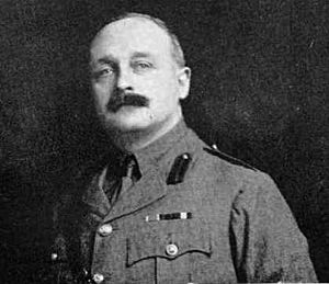 Portrait of William Braithwaite, a lieutenant-colonel at the time, circa 1911 to 1915