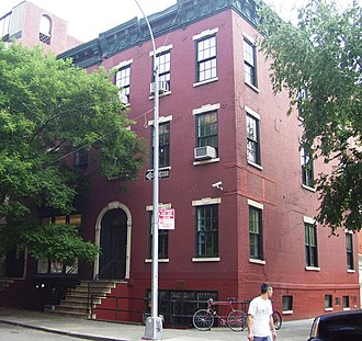 South Village - 200 Bleecker Street, part of the Little Red School House in the South Village