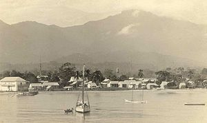 Ла Сейба: La Ceiba waterfront 1910s