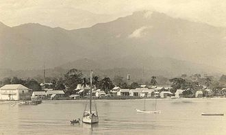 La Ceiba - La Ceiba waterfront in the 1910s