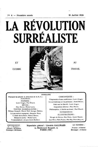 File:La Révolution surréaliste, n04, 1925.djvu
