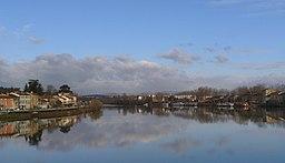 La Saône à Neuville-sur-Saône