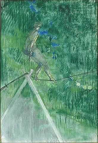 The Tightrope Dancer - Image: La danseuse de corde