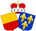 La princesse Marie de France, S. A. S. la princesse Gundakar de Liechtenstein.png