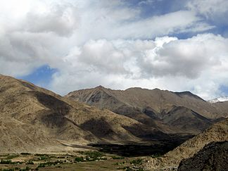 Ladakh Range bei Leh