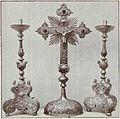Lade der Kürschnerzunft von Salzburg (1659)- Kreuz und Leuchter.jpg