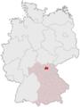 Lage des Landkreises Lichtenfels in Deutschland.png