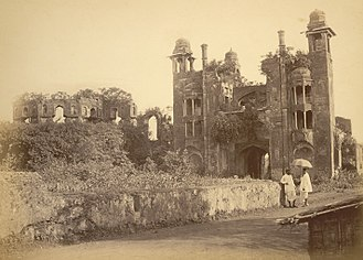 Lalbagh Fort - Photograph of the south gate in 1875