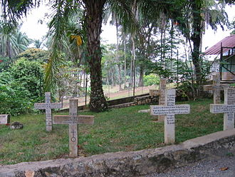 Lambaréné - Schweitzer tomb