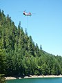 Landes Creek Fire-100, Willamette National Forest (34503443240).jpg