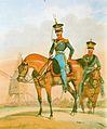 Landgendarmerie Königreich Hannover um 1840 Kapitän und Gendarm.jpg
