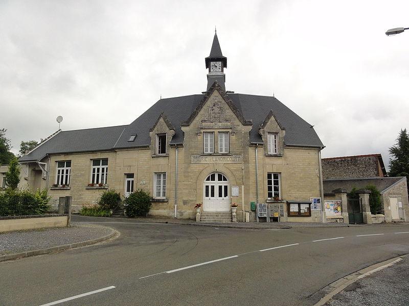 Landricourt (Aisne) mairie