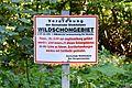 Landschaftsschutzgebiet Röderhofer Teiche und Egenstedter Forst - Egenstedter Forst - 'Vor der Fast' - Hinweisschild.jpg