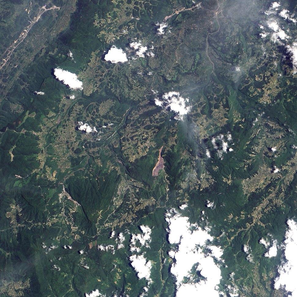 Landslide in Southern China
